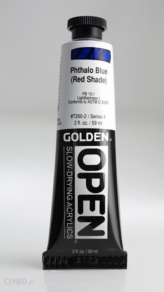 Golden OPEN Phthalo Blue /R.S. 59ml -farba