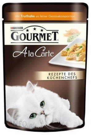 Gourmet a La Carte Indyk z warzywami 85g