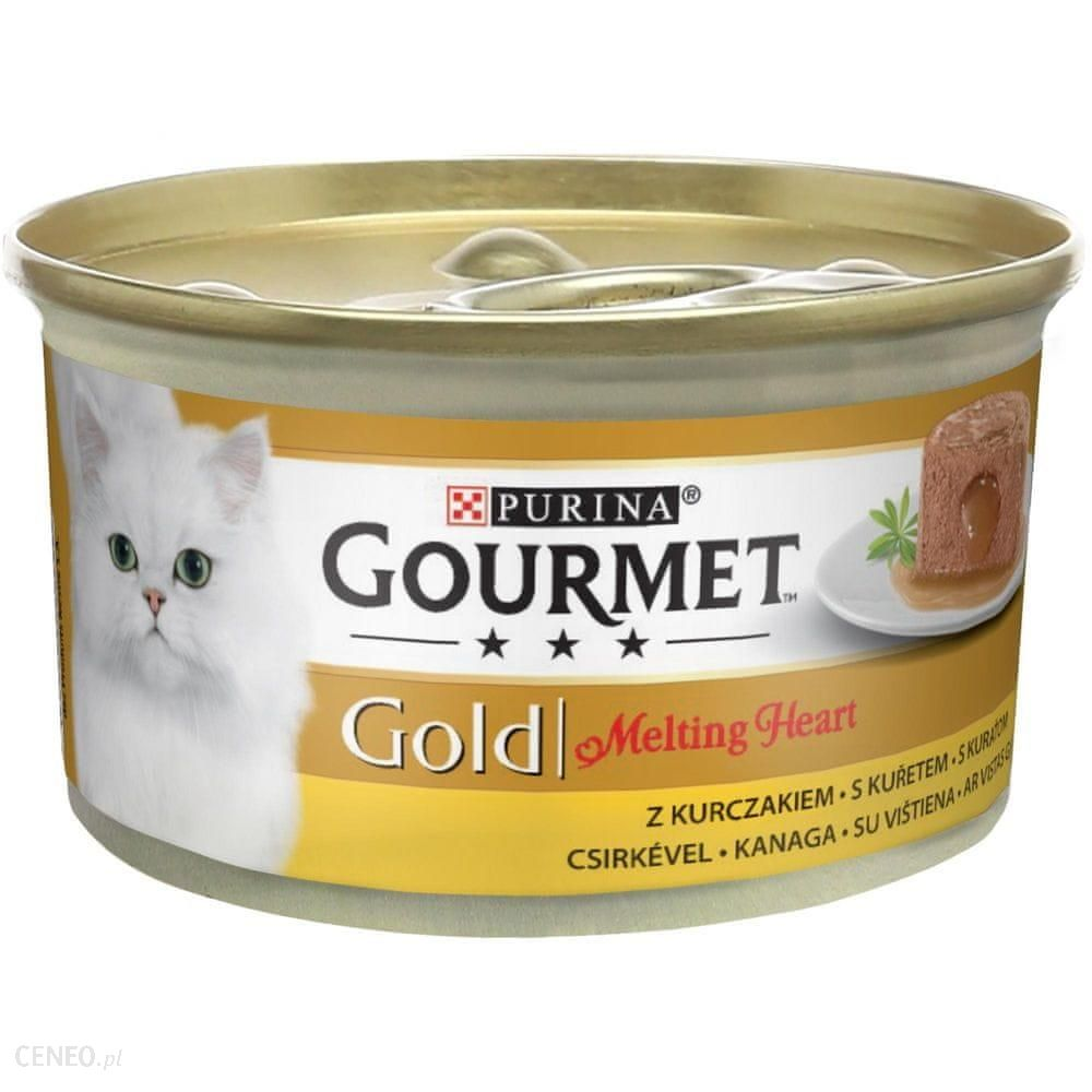 Gourmet Gold Melting Heart Mus Z Sosem Z Kurczakiem 24x85G
