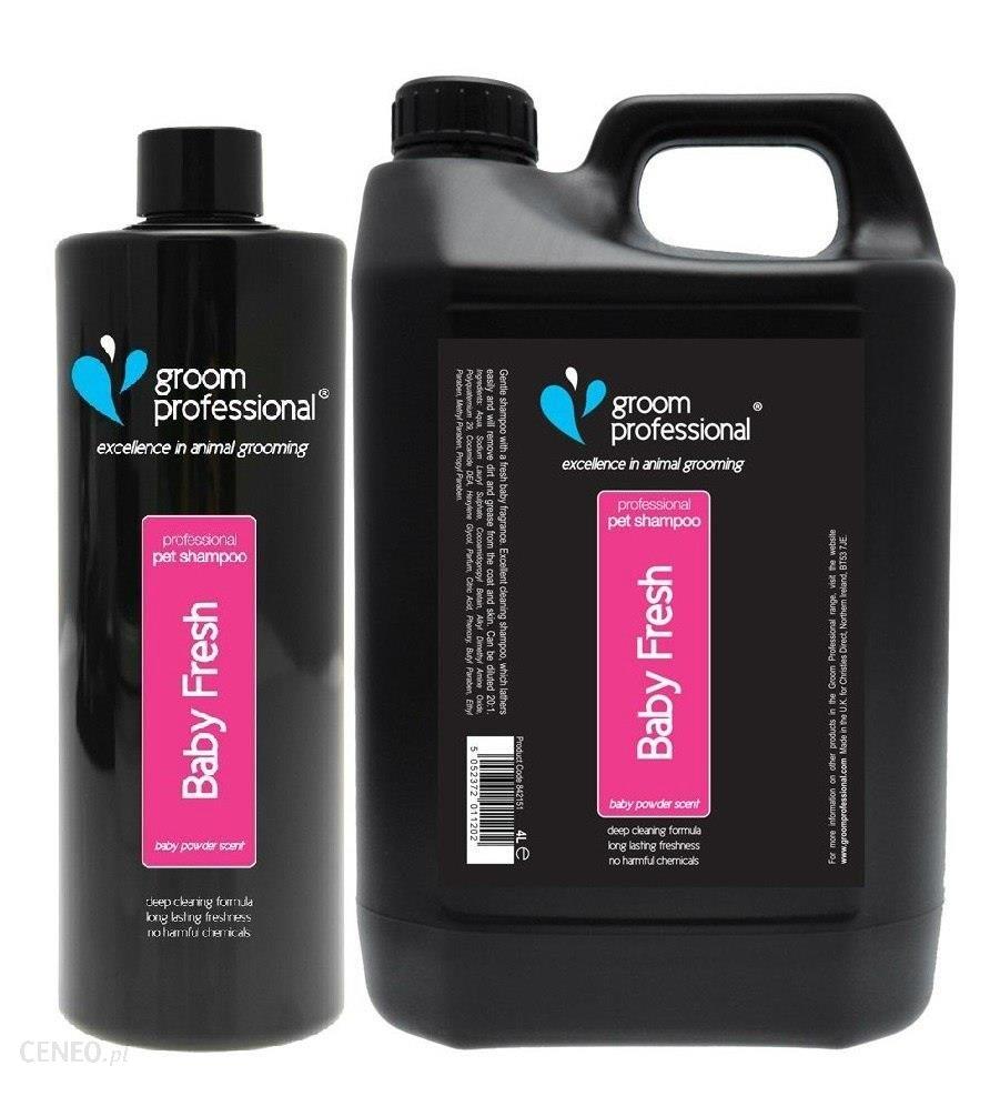Groom Professional Baby Fresh Shampoo Delikatny Szampon Dla Szczeniąt Koncentrat 1:20 450ml