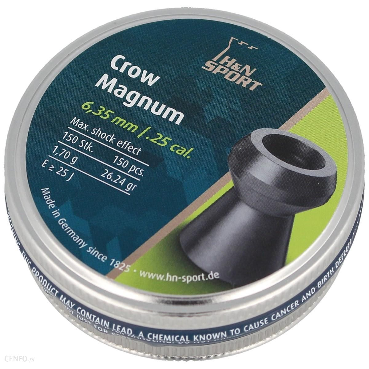 H&N Sport Śrut Diabolo H&N Crow Magnum Kal 6.35 Mm 150 Szt - 92226350003