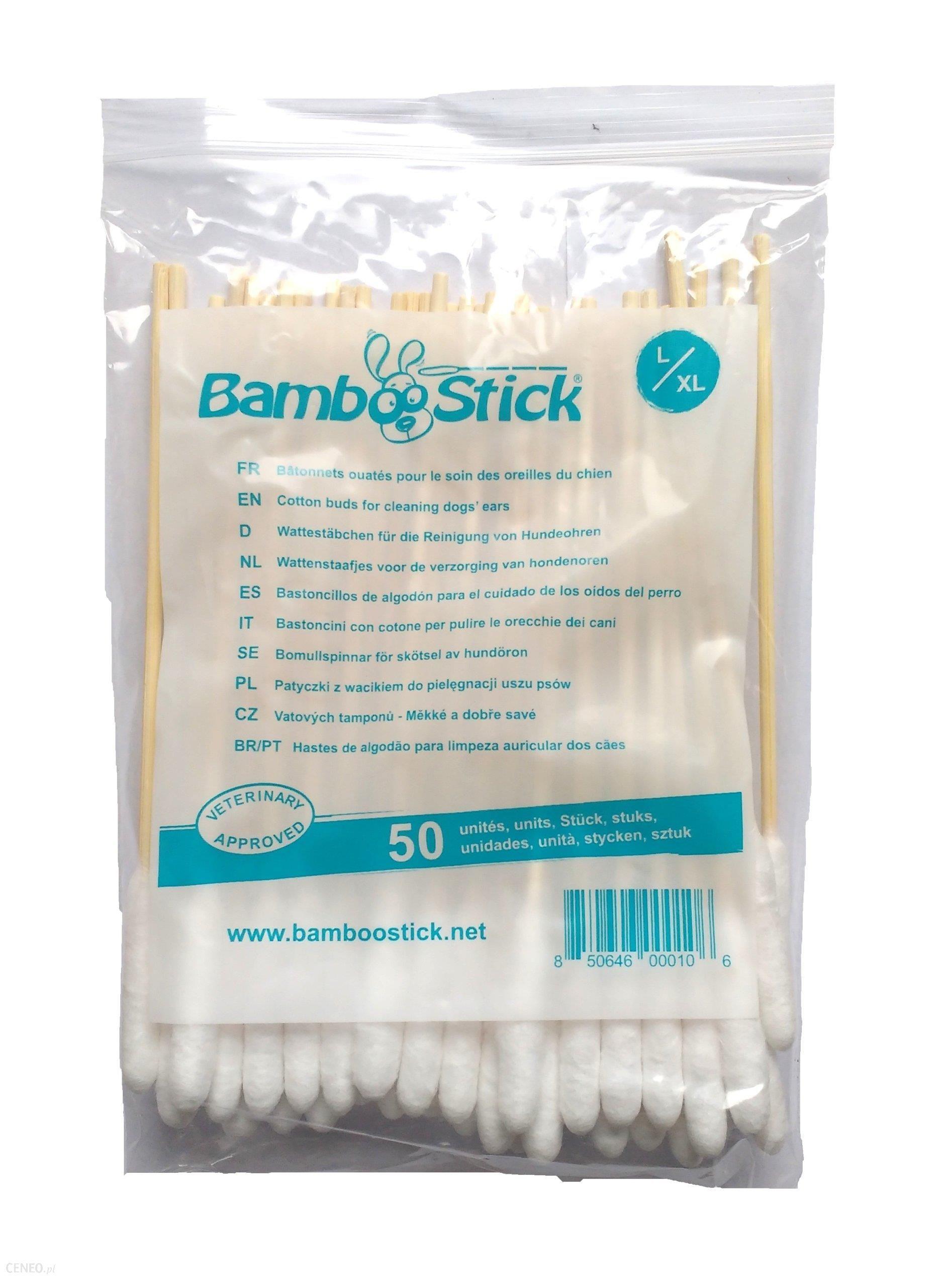 H3D Bamboostick Patyczki Do Uszu L/XL 50szt