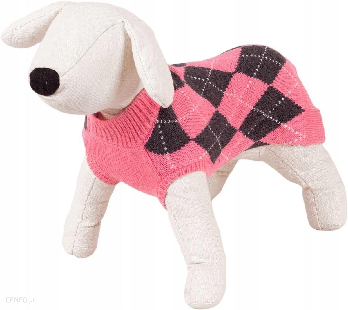 Happet Ubranko Sweterek Dla Psa Romby Róż M-25Cm