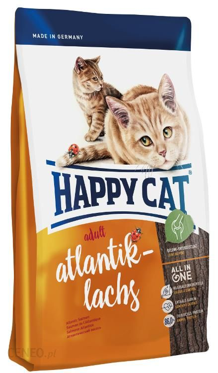Happy Cat Supreme Fit Well Adult Łosoś 10Kg