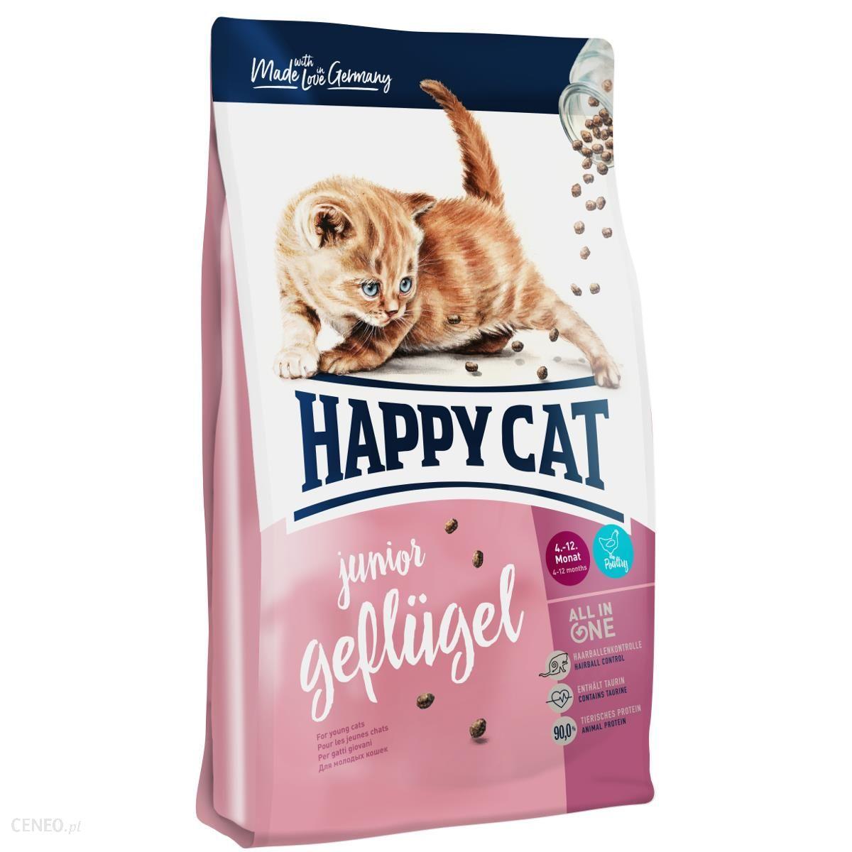 Happy Cat Supreme Junior Z Kurczakiem 10Kg