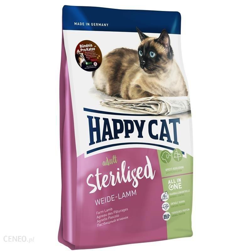 Happy Cat Supreme Sterilised Jagnięcina 4kg