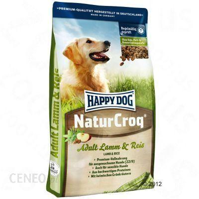 Happy Dog Naturcroq Jagnięcina Z Ryżem 2x15kg