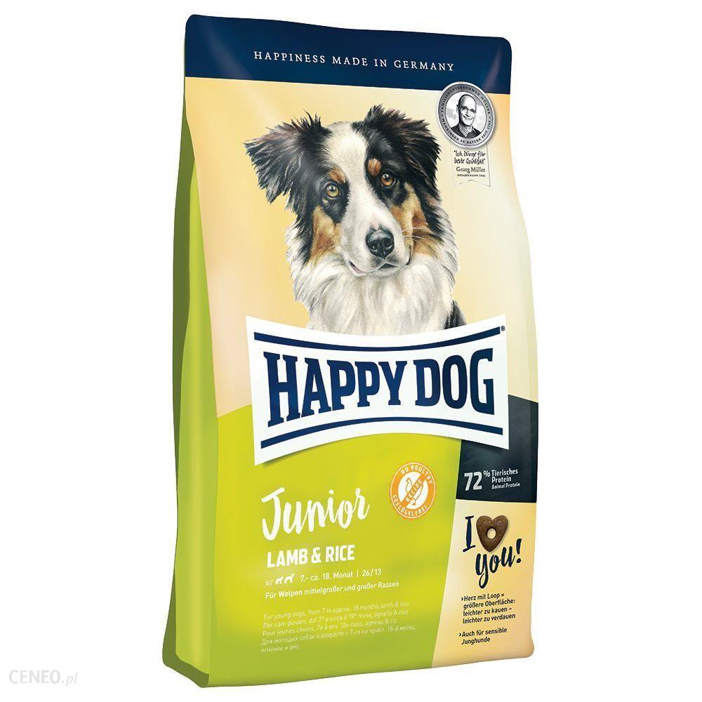 Happy Dog Supreme Young Junior jagnięcina i ryż Medium & Maxi 2x10kg
