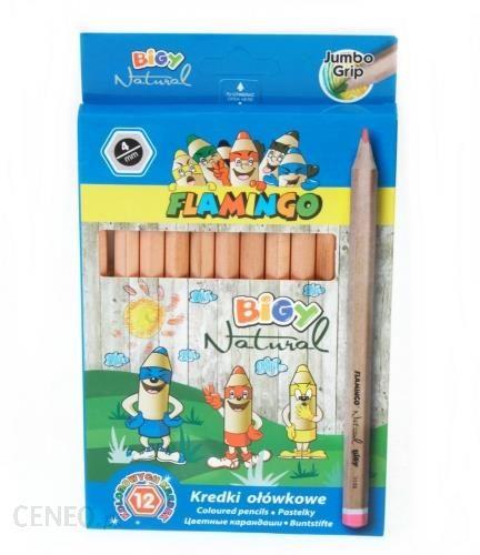 hasta Kredki ołówkowe 12kol 180 Jumbo Flaming 340943 Wb