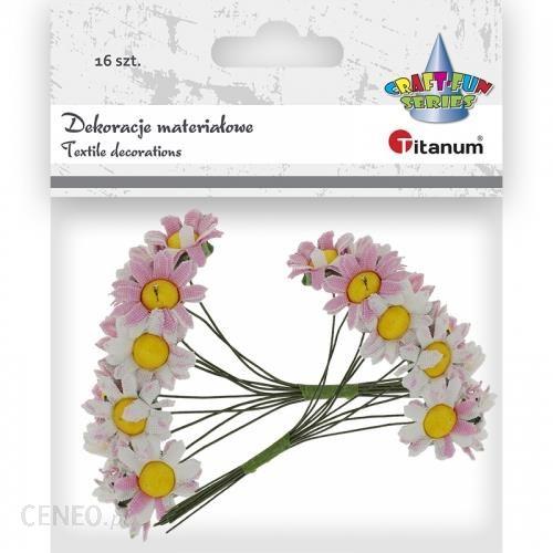 Hasta Ozdoba Dekoracyjna Kwiaty Material 405239 Roz 16Szt