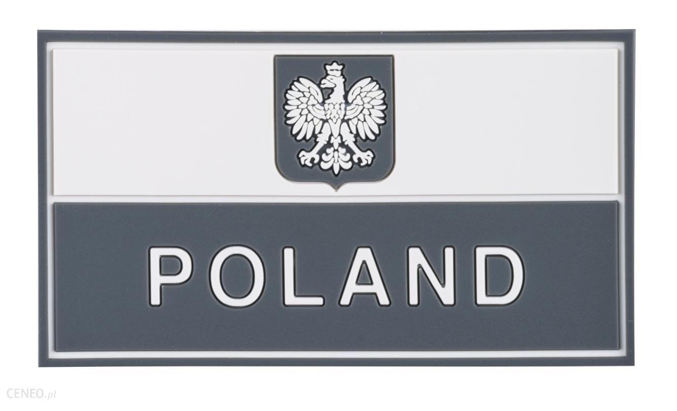 Helikon Naszywka Pvc Flaga Pl Szara