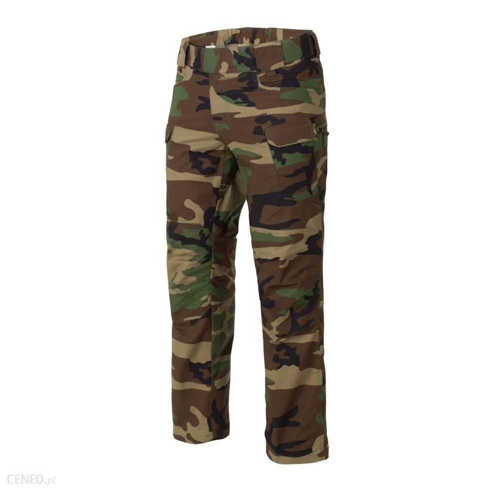 Helikon Spodnie Taktyczne Utp Urban Tactical Pants Ripstop Woodland Sp-Utl-Pr-03M Extra Long