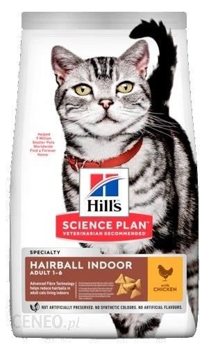 Hill'S Feline Adult Hairball Indoor 1 5Kg