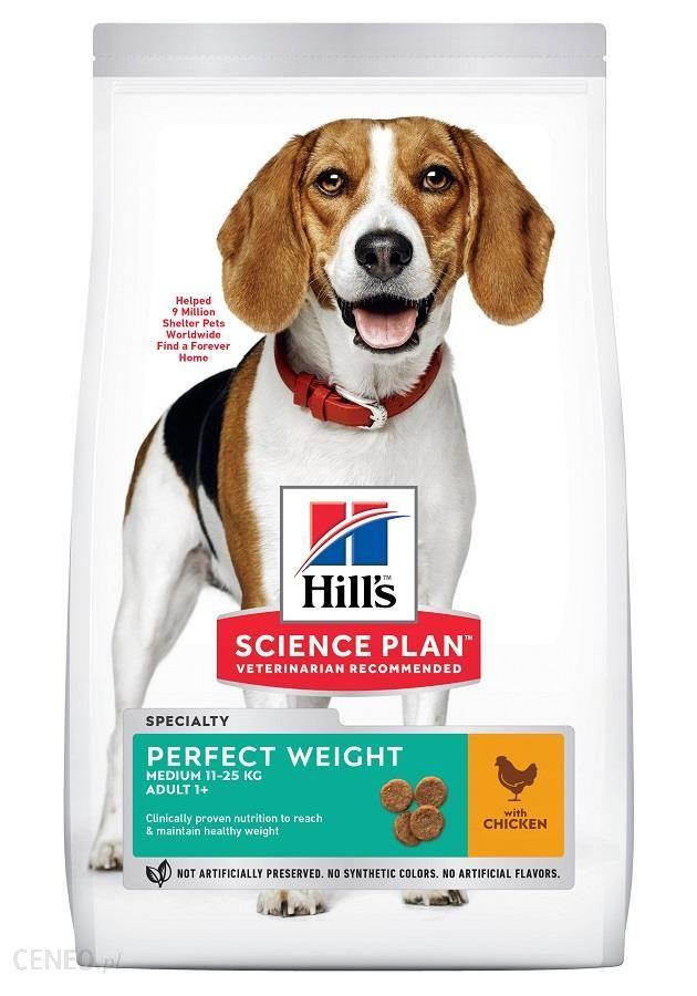 Hill'S Hill's Science Plan Adult Perfect Weight Medium karma sucha dla psów 2Kg