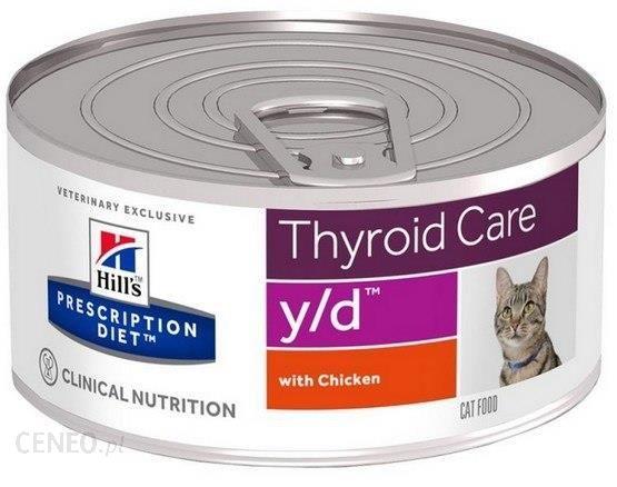 Hill'S Prescription Diet Y D Feline Puszka 156G