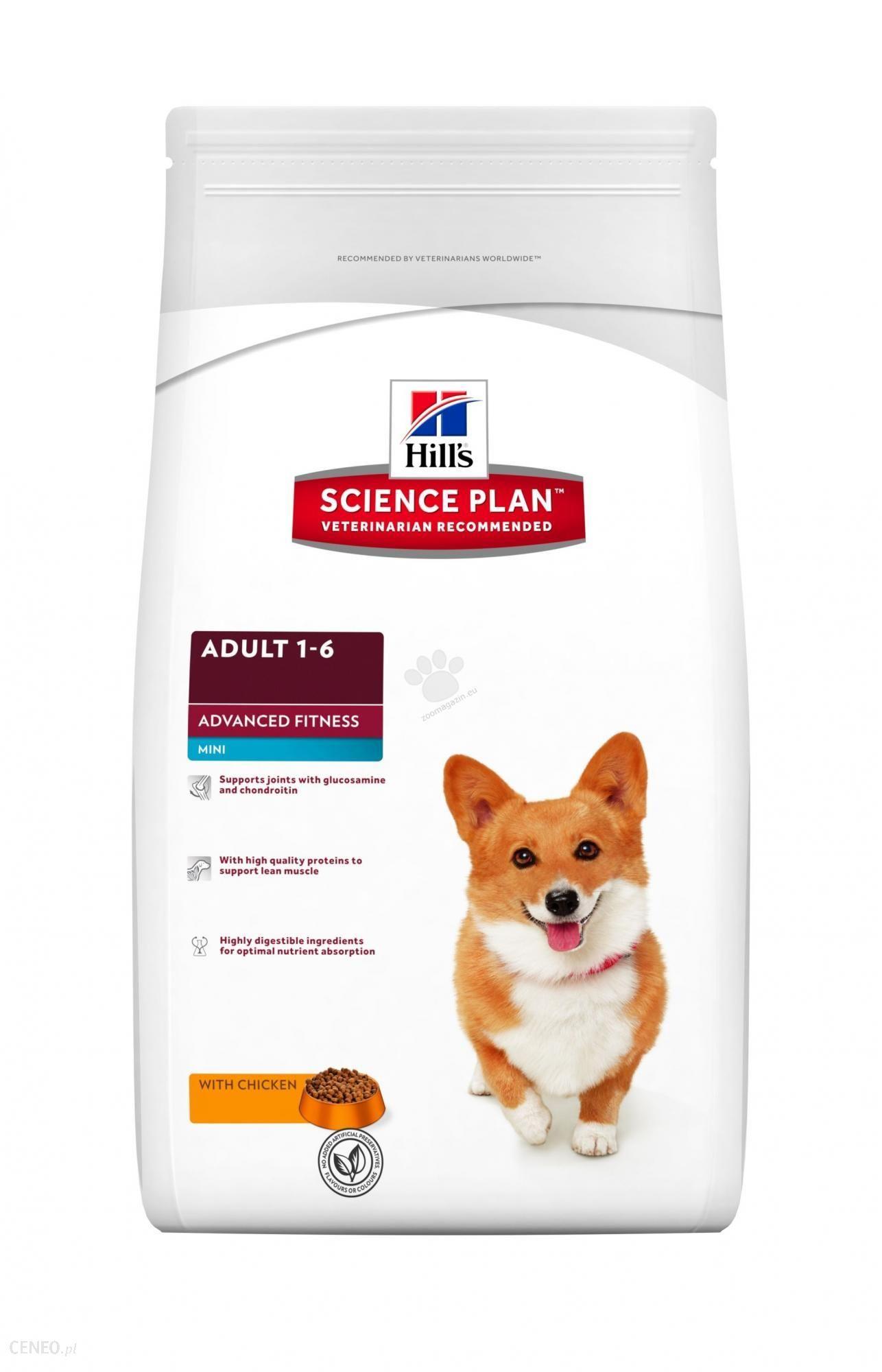 Hill's Science Plan Canine Adult Advanced Fitness Mini Kurczak 2