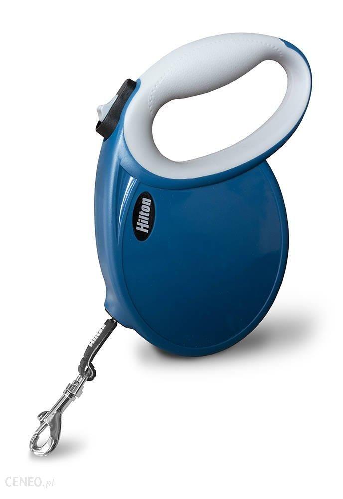 Hilton Smart Dog Smycz Automatyczna 5M Do 30Kg Niebieska
