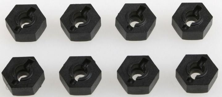 Himoto Aluminiowe Hexy 8Szt Czarne (02100) (Hm02100)