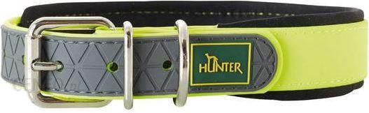 Hunter Obroża Convenience Comfort Neonowożółty 40cm