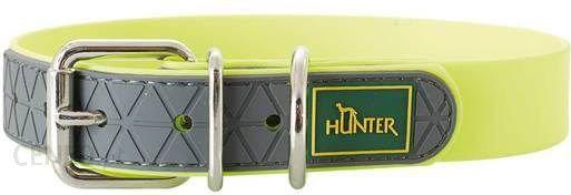 Hunter Obroża Convenience Neonowożółty 35cm