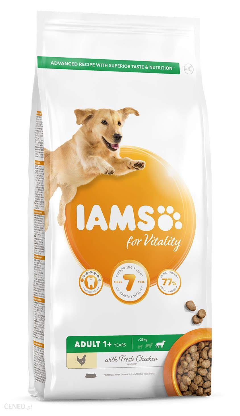 Iams For Vitality Adult Large Breed Chicken 5Kg