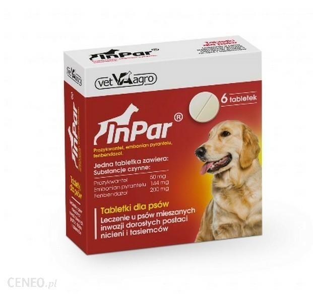 Inpar Tabletki Odrobaczające 2Tabl