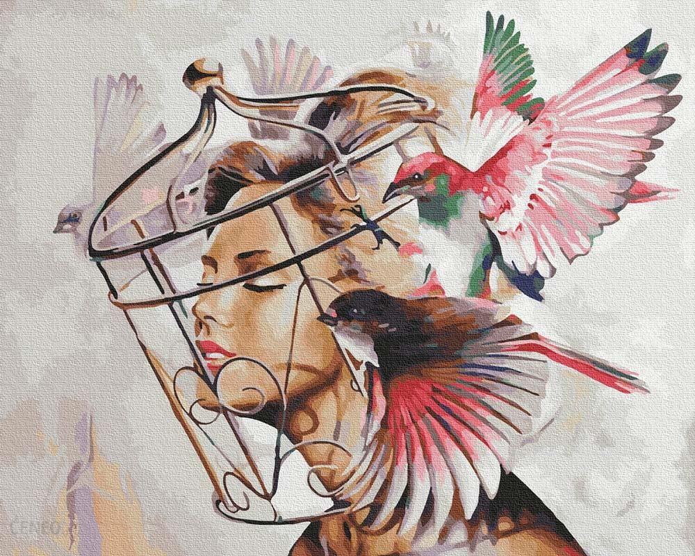 Ipicasso Pragnienie wolności Malowanie po numerach 40x50 cm