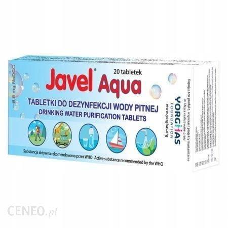Javel Tabletki Aqua Do Uzdatniania Wody 20Szt (Bu Jatb20)