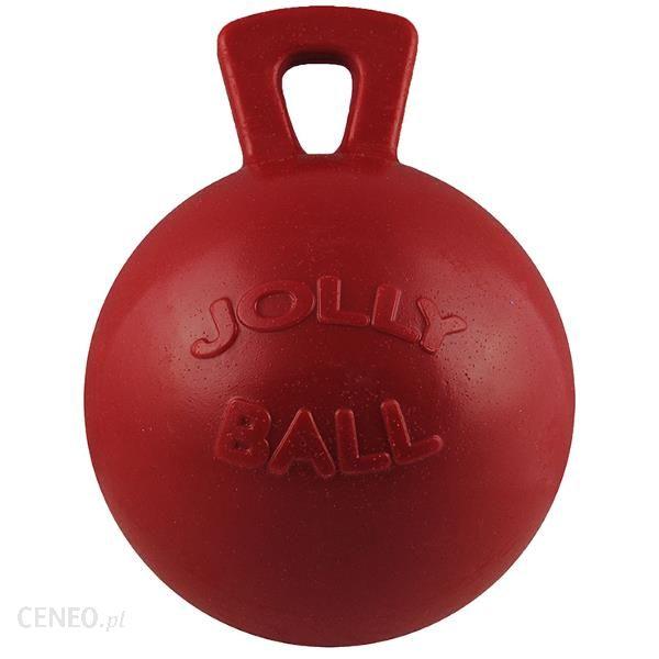 Jolly Pets Piłka z uchwytem Czerwony 11cm