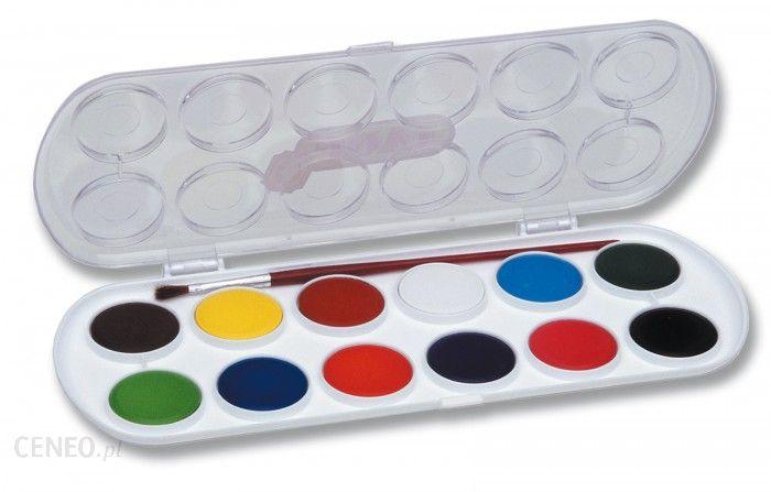 JOVI Farby akwarelowe 12 kolorów 30 mm