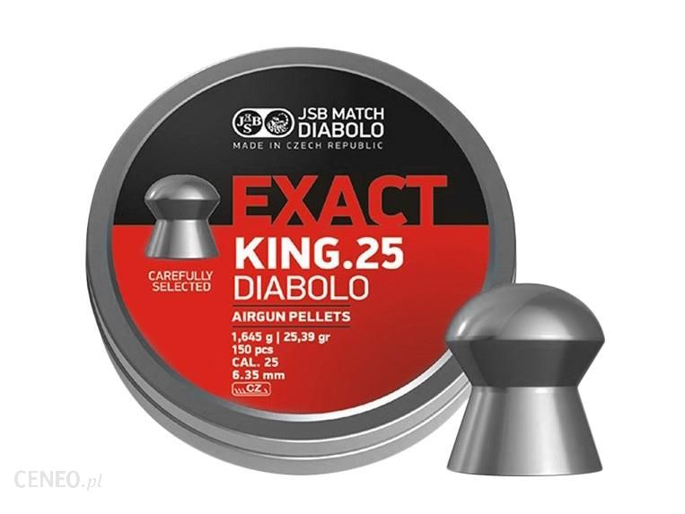 JSB Śrut diabolo Exact King 6