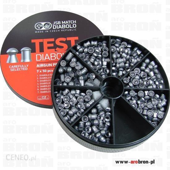 Jsb Śrut Diabolo Exact Set Test 7X30 Jumbo 5