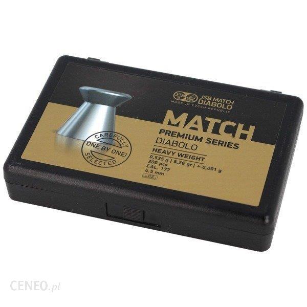 JSB - Śrut Match Premium Heavy - 4.51 mm - 200 szt. - 1026-200