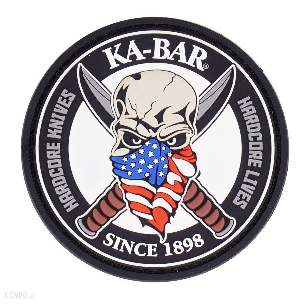 Ka-Bar Naszywka Skull Patch Kbpatch1