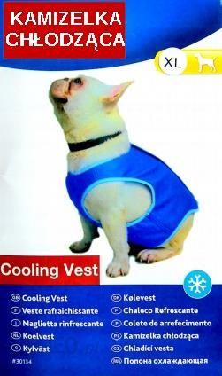 Kamizelka chłodząca dla psa (L)