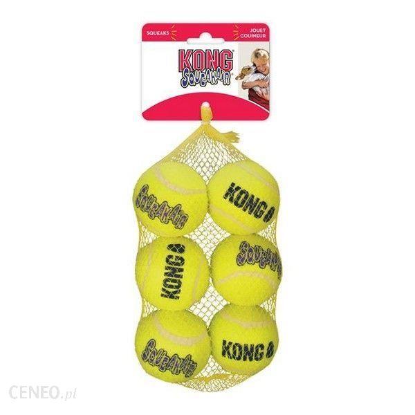 Kong Piłki Squeakair Medium 6szt