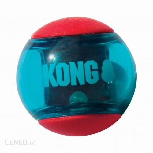 Kong Squeezz Action Red M