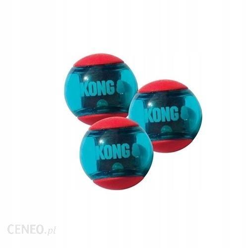 Kong Squeezz Action Redarge Rozmiar S 3Szt