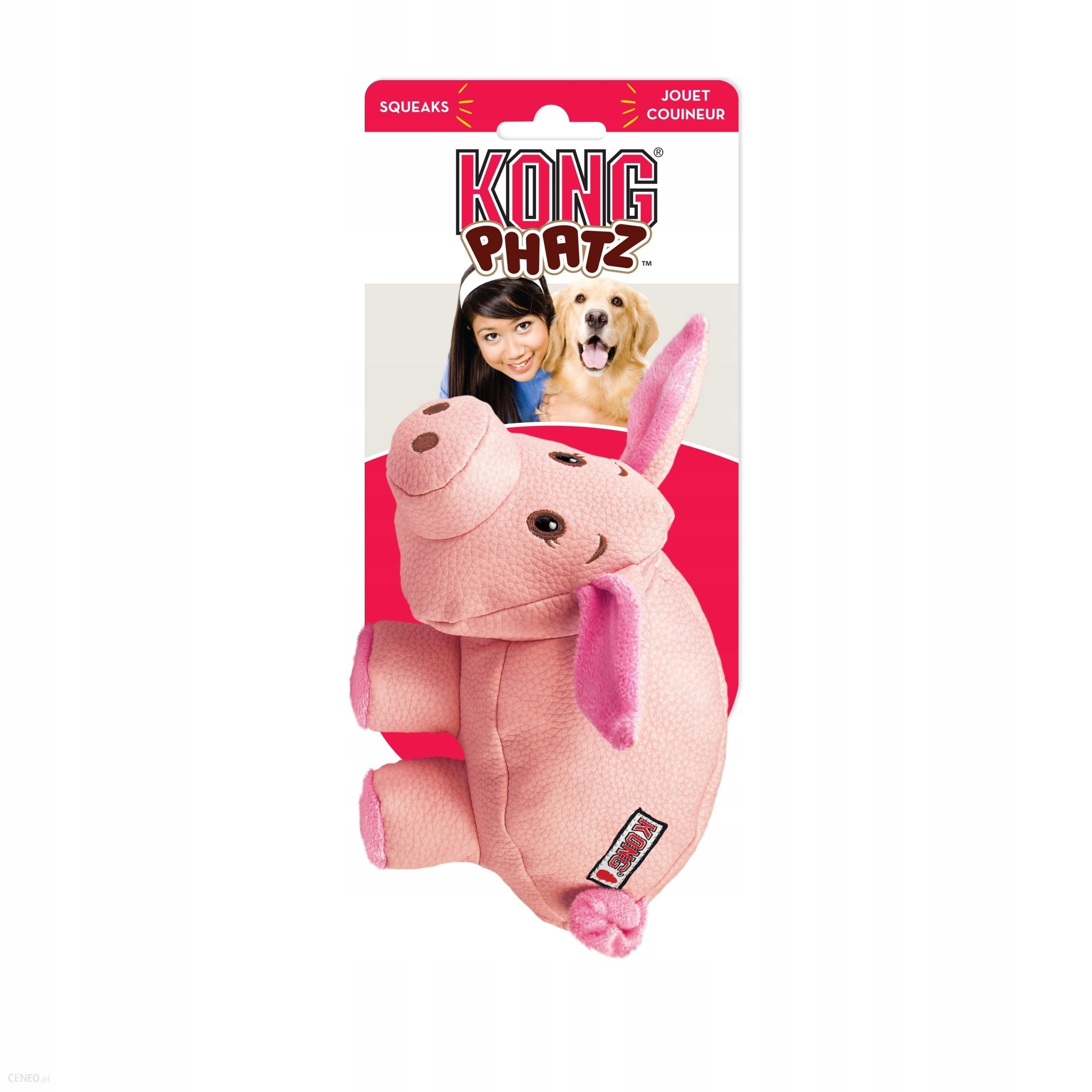 Kong Zabawka dla psa Phatz Pig M