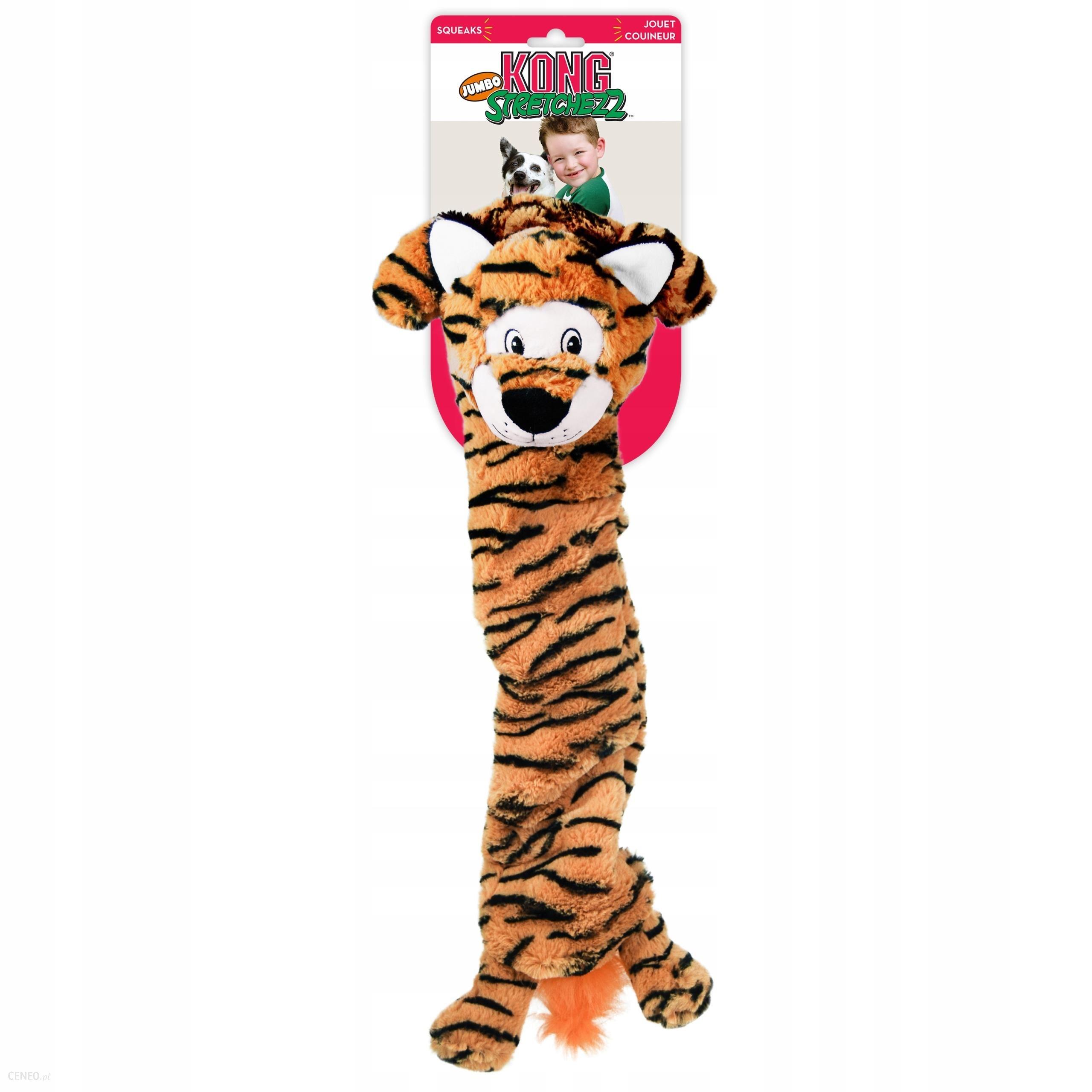 Kong Zabawka dla psa Stretchezz Jumbo Tiger