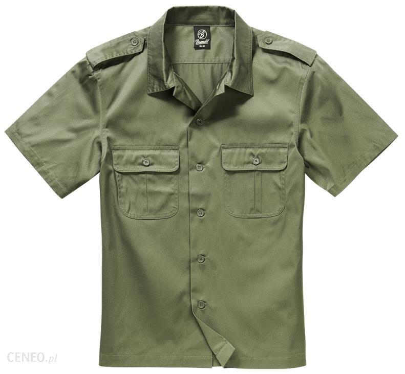Koszula BRANDIT US Hemd 1/2 Arm Olive (4101.1)