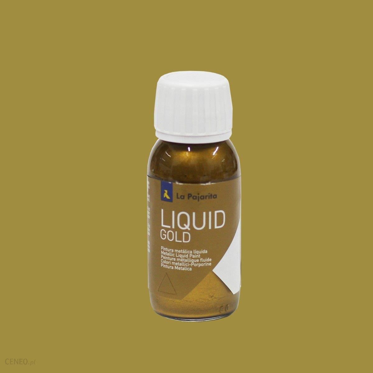 La Pajarita Farba Liquid Gold 50ml Cytrynowe Złoto