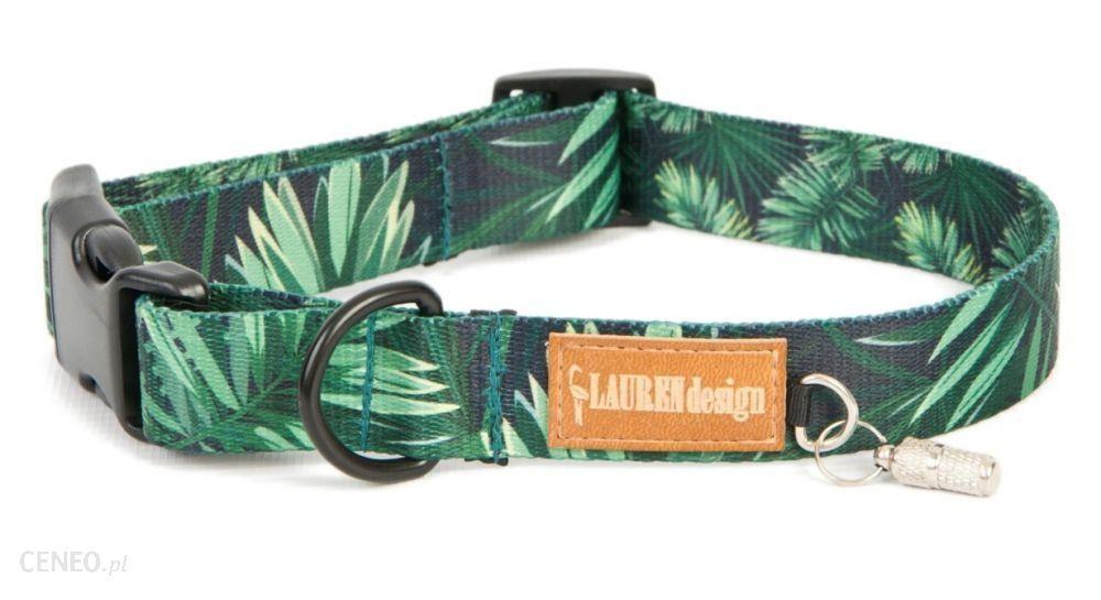 Lauren Design Obroża Z Klamrą M Forest