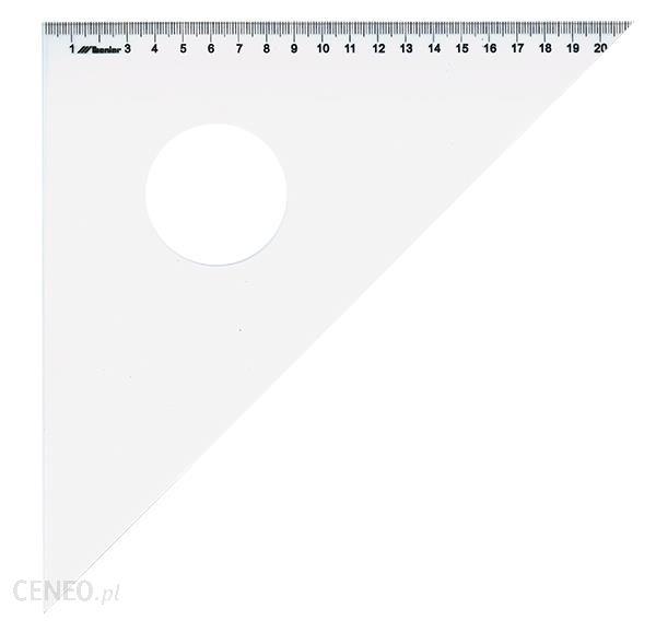 Leniar Ekierka z podcięciem plexi 45/50cm