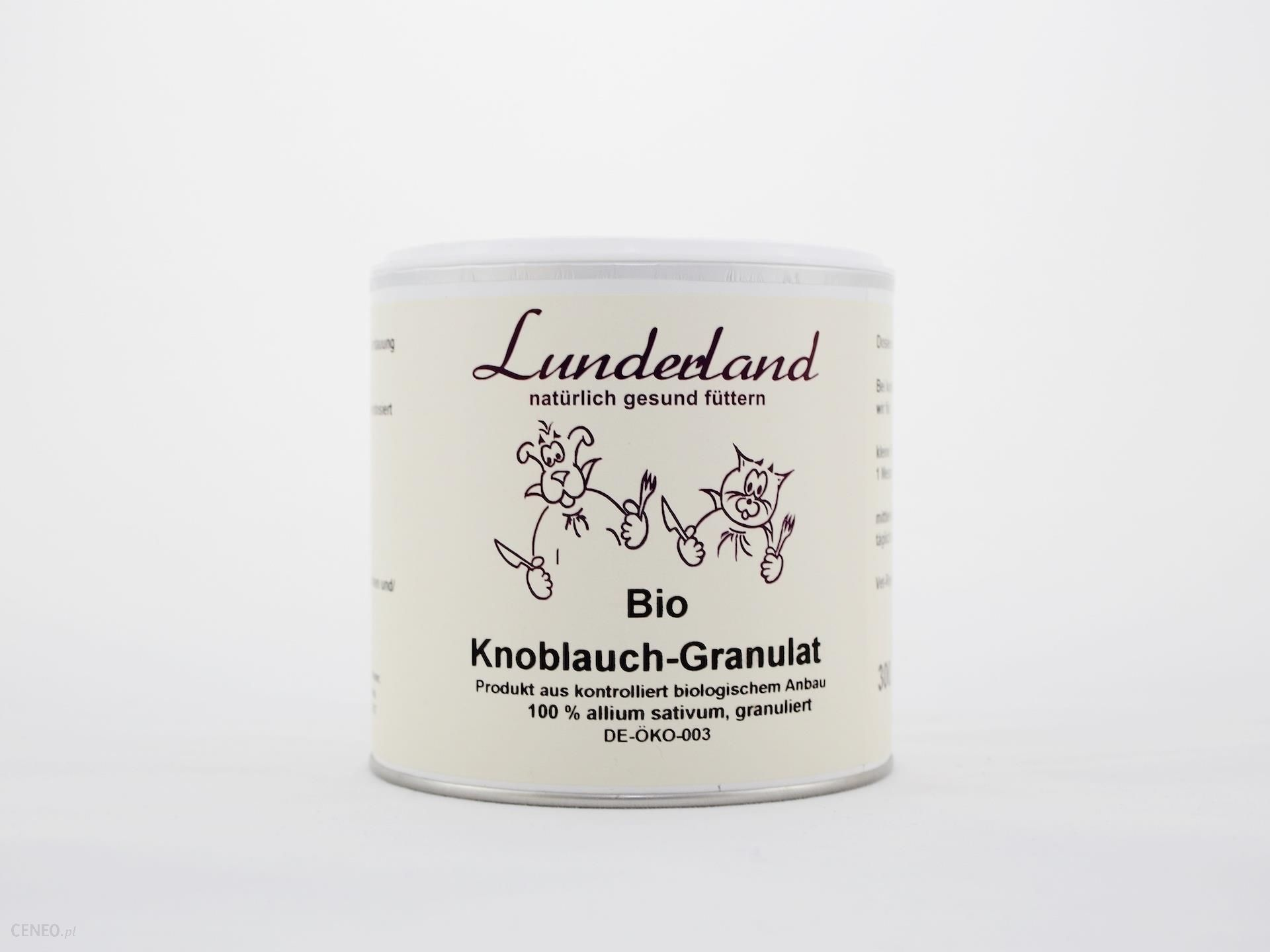 Lunderland Czosnek granulowany Bio 300g