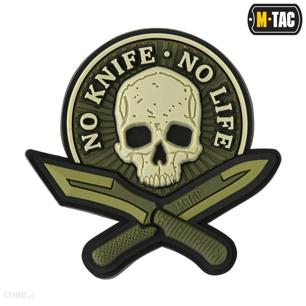 M-Tac Naszywka No Knife Life 3D Pvc