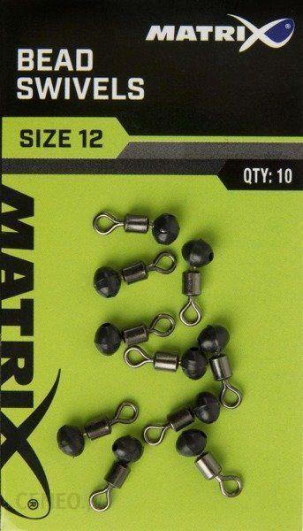 Matrix Krętliki Bead Swivels 12/10Szt