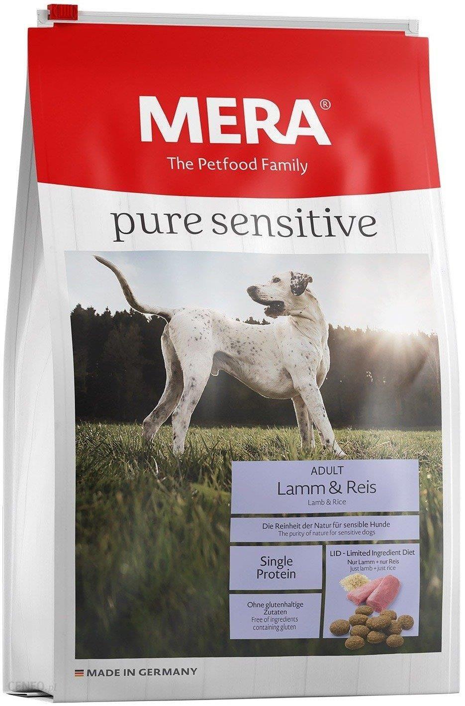 Mera Dog Pure Sensitive jagnięcina i ryż 12