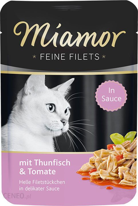 Miamor Feine Filets Tuńczyk Z Pomidorem W Sosie 100g