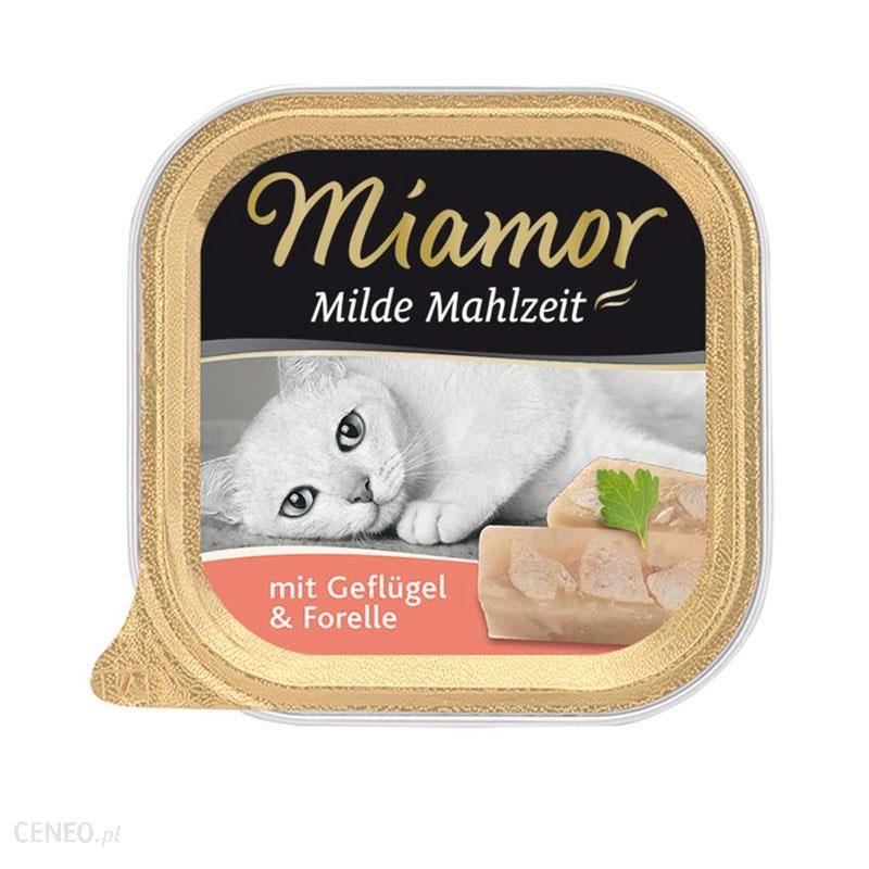 MIAMOR Milde Mahlzeit Kurczak z pstrągiem 16x100g